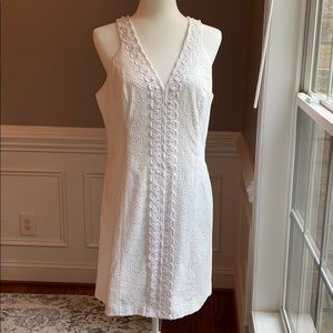 Lilly Pulitzer Lynn Shift Dress - Resort White